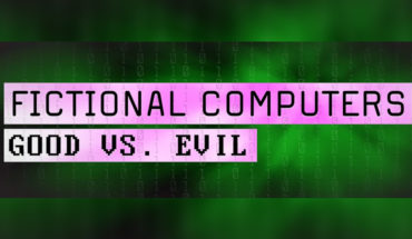 Our Favorite Fictional Computers (Good vs Evil) - Infographic