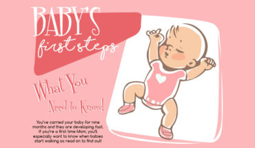 The First Steps Of Your Baby - Infographic