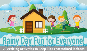 Things Your Kids Can Do On Rainy Days - Infographic