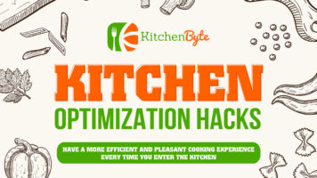 Top 5 Kitchen Hacks That Will Save The Day - Infographic