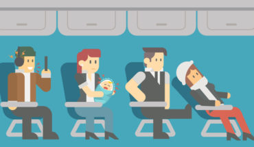 11 Types of Airplane Etiquette Offenders and How to Manage Them - Infographic