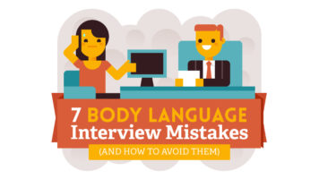 The Importance of Body Language in Interviews and How to Avoid Mistakes - Infographic