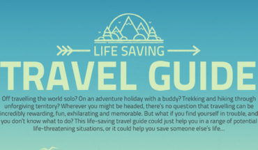 A Traveling Guide That Can Save Your Life - Infographic