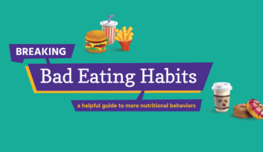 How To Break The Bad Eating Habits - Infographic