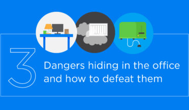 Steer Clear From These Dangers In Your Office - Infographic