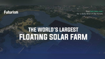 The Largest Floating Solar Farm In The World - Infographic
