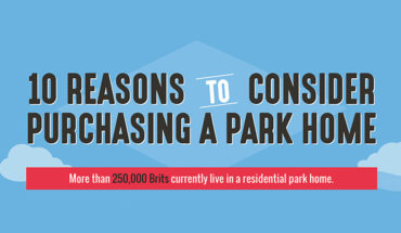 10 Reasons to Live in a Park Home - Infographic