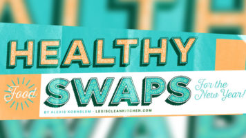12 Food Swap Ideas for Healthier Eating - Infographic