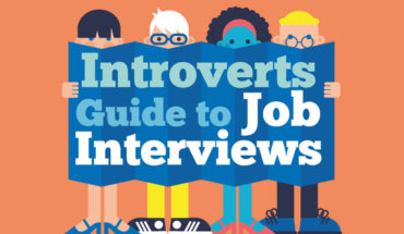 How Introverts Can Nail Job Interviews - Infographic