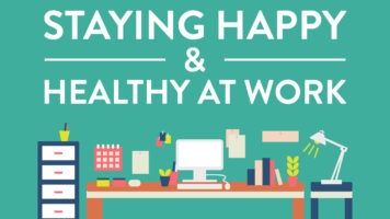 How to Stay Active and Healthy in a Sedentary Work-Space - Infographic
