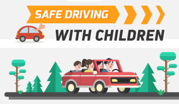 How to be Extra-Safe When Driving with Children - Infographic