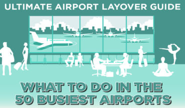 Make the Most of Long Airport Layovers - Infographic