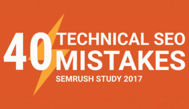 SEO Technical Mistakes – Top 40 Countdown - Infographic