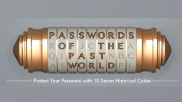 Secret Passwords Across the Ages - Infographic