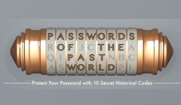 Secret Passwords Across the Ages - Infographic