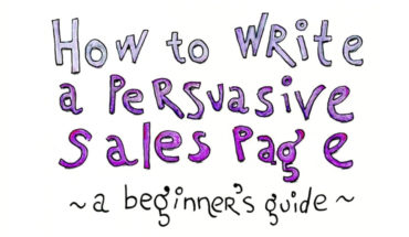 The Art of Writing Persuasive Sales Page Without Sounding Pushy! - Infographic