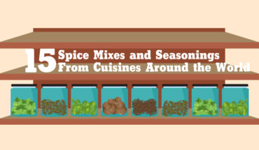 The Global Spice Chest: 15 Ethnic Spice Mixes and Seasonings - Infographic