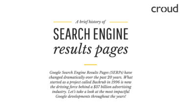 The Saga of SERPs or Search Engine Result Pages - Infographic
