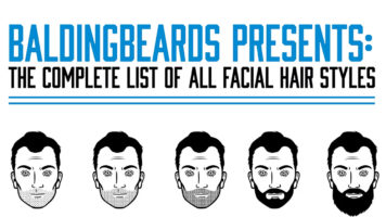 The Ultimate Guide to Men's Facial Hair Styles - Infographic