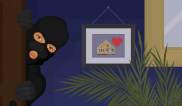 Tips for Make Your Home Safe from Burglars - Infographic