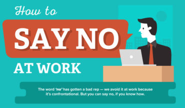 Why It Can Be Good to Say No to Work - Infographic