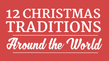 12 Interesting Christmas Rituals From Around The World - Infographic