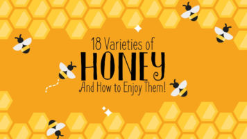 18 Honey Varieties from Around the World - Infographic