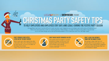 At Work: What NOT To Do This Christmas - Infographic