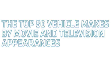 Cars That Made Maximum Appearances In Movies And TV Shows - Infographic
