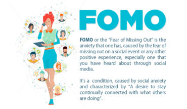 Dangers of the FOMO Syndrome - Infographic
