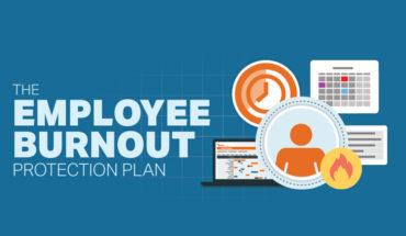 How to Protect Employees from Burnout Problems - Infographic