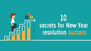 Interesting Ways To Make Your New Year Resolution Last - Infographic