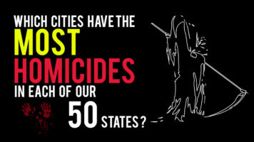 Learn About The Murder Capitals Of Every State (USA Edition) - Infographic