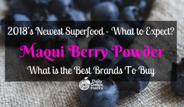 Maqui Berry: The New Super Food with Super² Health Benefits - Infographic