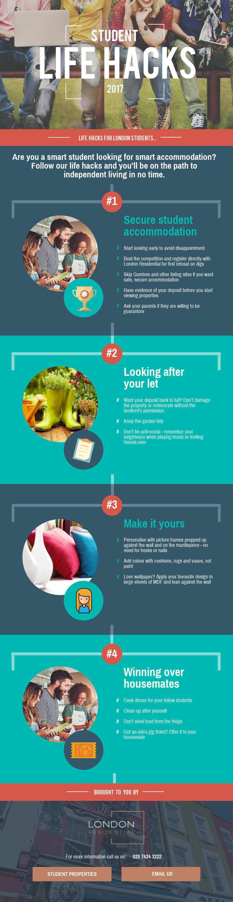 Moving to London: Smart Tips for Smart Students - Infographic