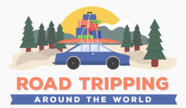Road Tripping Your Way Across the Globe - Infographic