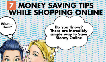 Tips to Save Money When Shopping Online - Infographic