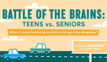 Who's the Better Driver: Teen or Senior? - Infographic