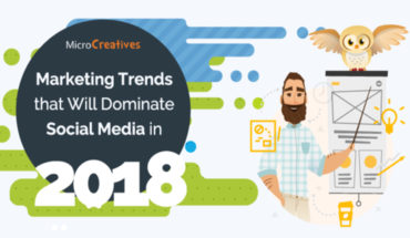 Advertising on Social Media: Defining Marketing Trends for 2018 - Infographic