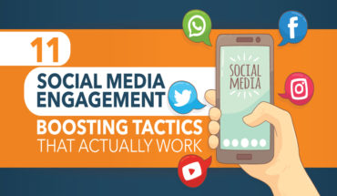 Boosting Social Media Engagement: The 11 Commandments - Infographic