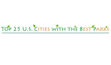 Cities with the Best Parks: Top 25 USA List - Infographic