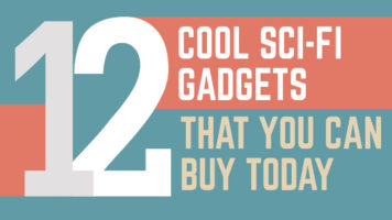 Creating the Future: Stories of 12 Incredible Gadgets - Infographic