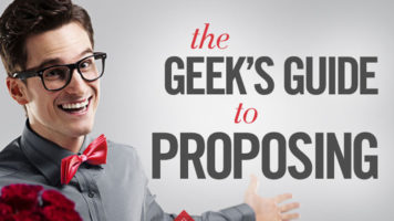 "Geeky Methods of Saying 'Will You Marry Me?"" - Infographic"