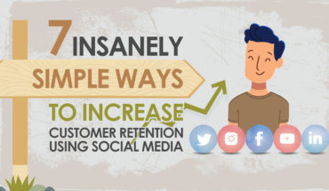 How Social Media Can Increase Customer Retention - Infographic