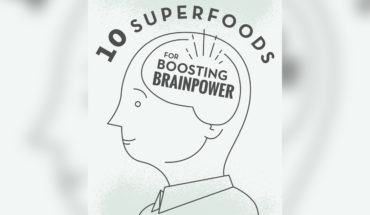 How to Boost Brain Power: 10 Super Foods - Infographic