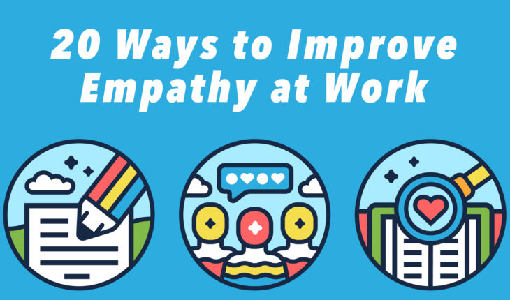 How to Build Empathy: The Key To Better Work Relationships and Productivity - Infographic
