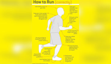 How to Get the Right Running Posture - Infographic