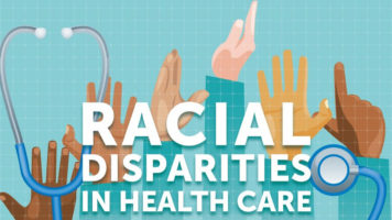 Poorer Health and Health Care in Racial Minorities - Infographic