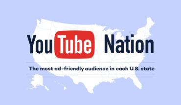 The America Map of YouTube Ad Viewers - Infographic