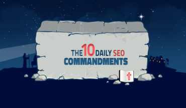 The SEO List of 10 Commandments - Infographic